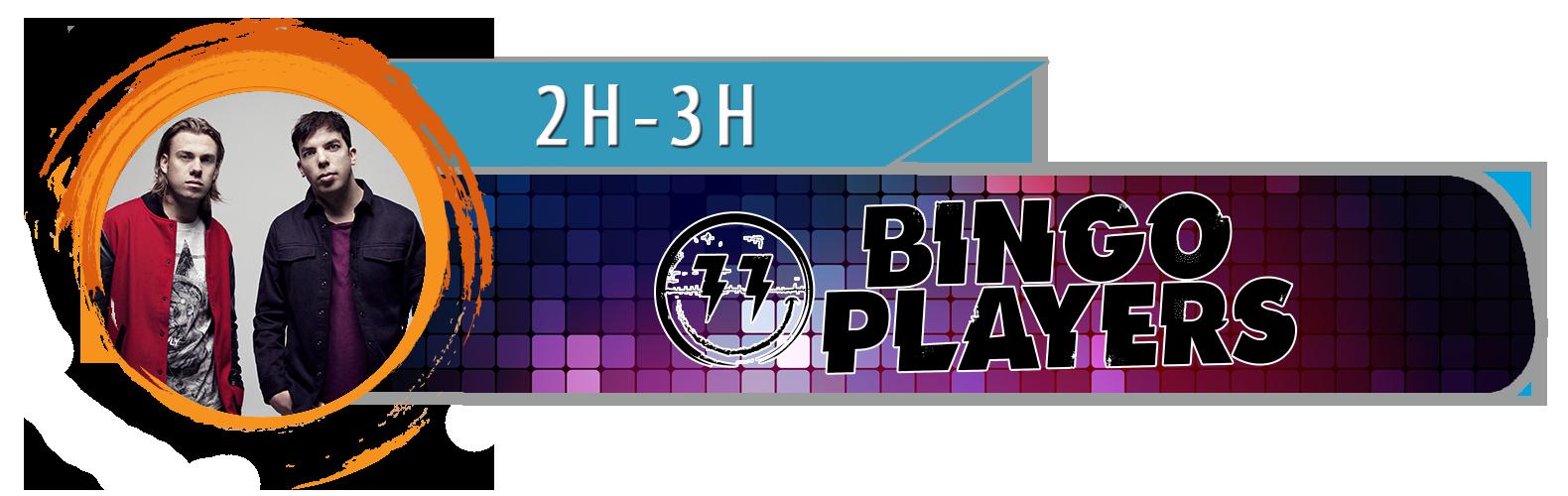 Bandeau DJ Bingo