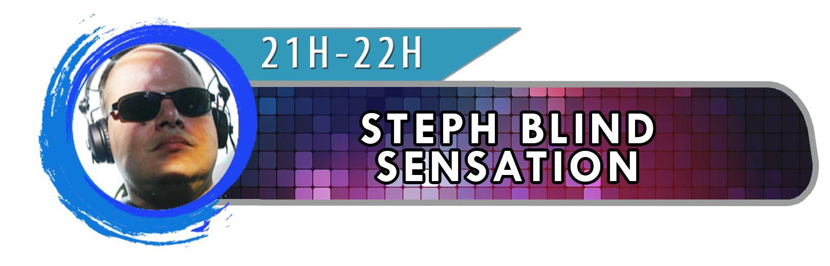 Bandeau DJ Steph Blind Sensation